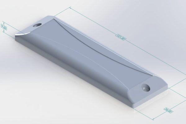 rfid uhf long range pallet/bin tag
